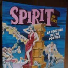 Cómics: SPIRIT. LA FORTUNA DE LOS PORTIER. WILL EISNER. NORMA. Lote 30991506