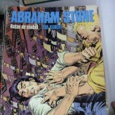 Cómics: ABRAHAM STONE : RATAS DE CIUDAD - JOE KUBERT¡ 56 PAGINAS ! NORMA EDITORIAL - CIMOC EXTRA COLOR Nº 92. Lote 31041813