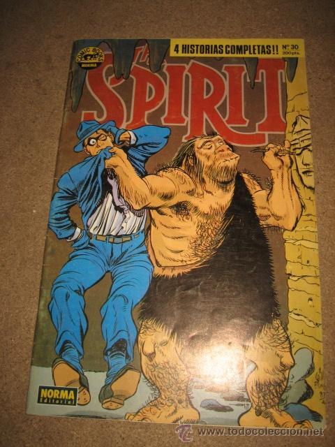THE SPIRIT Nº 30 4 HISTORIAS NORMA EDITORIAL 1990 (Tebeos y Comics - Norma - Otros)