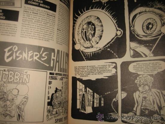 Cómics: THE SPIRIT Nº 30 4 HISTORIAS NORMA EDITORIAL 1990 - Foto 2 - 31070616