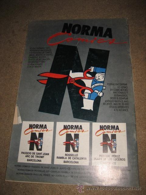 Cómics: THE SPIRIT Nº 30 4 HISTORIAS NORMA EDITORIAL 1990 - Foto 3 - 31070616