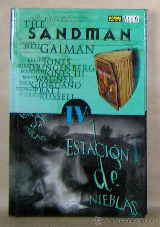 THE SANDMAN - NEIL GAIMAN – 4 ESTACIÓN DE NIEBLAS - NORMA ED. CARTONÉ - NUEVO (PRECINTADO) - (Tebeos y Comics - Norma - Otros)