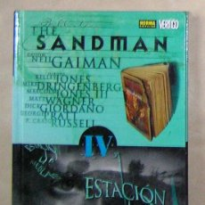 Cómics: THE SANDMAN - NEIL GAIMAN – 4 ESTACIÓN DE NIEBLAS - NORMA ED. CARTONÉ - NUEVO (PRECINTADO) -. Lote 35873789