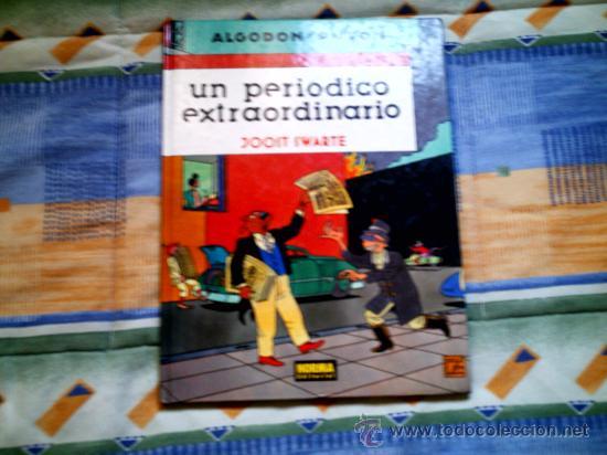 ALGODON Y PISTON. UN PERIODICO EXTRAORDINARIO, DE JOOST SWARTE (NORMA, CARTONE, COLOR) (Tebeos y Comics - Norma - Cairo)