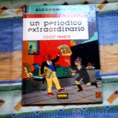 Cómics: ALGODON Y PISTON. UN PERIODICO EXTRAORDINARIO, DE JOOST SWARTE (NORMA, CARTONE, COLOR). Lote 31214556