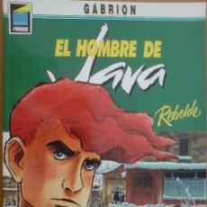 Cómics: COMIC EL HOMBRE DE JAVA - REBELDE. GABRION. NORMA. Lote 31664910