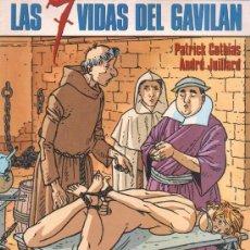 Cómics: NORMACOLECCIÓN CIMOC EXTRA COLOR N° 84 - LAS 7 VIDAS DEL GAVILAN 4 HYRONIMUSCOTHIAS- JUILLARD. Lote 31666696