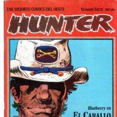 Cómics: LOS MEJORES COMICS DEL OESTE, Nº 7, HUNTER. Lote 31768256