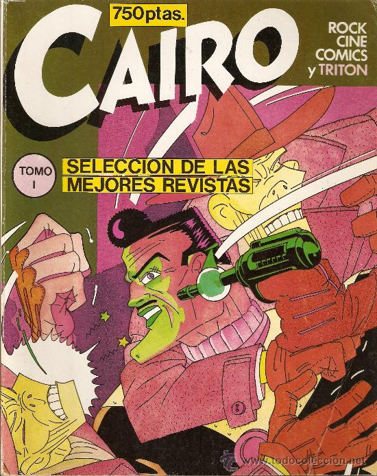 COMIC CAIRO-TOMO I (Tebeos y Comics - Norma - Cairo)