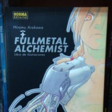 Cómics: FULLMETAL ALCHEMIST ARTBOOK 1, DE HIROMU ARAKAWA. Lote 31970744