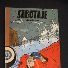 Cómics: SABOTAJE - NORMA - CON DIBUJO ORIGINAL Y DEDICATORIA DE DANIEL TORRES - . Lote 31982996