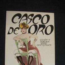 Cómics: CASCO DE ORO - EDICIONES LA TORRE - CON DEDICATORIA DE ANNIE GOETZINGER -. Lote 31983709