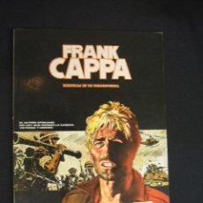 Cómics: FRANK CAPPA - MEMORIAS DE UN CORRESPONSAL - CON DEDICATORIA DE MANFRED SOMMER - . Lote 31983770