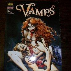 Comics: VAMPS Nº 2 - VERTIGO - NORMA EDITORIAL - 1200 PTAS. Lote 32004489