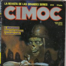 Cómics: CIMOC Nº 29. LITERACOMIC.. Lote 32042218
