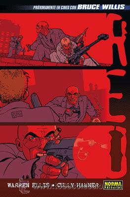 WARREN ELLIS, CULLY HAMNER // RED // 2010 (Tebeos y Comics - Norma - Comic USA)