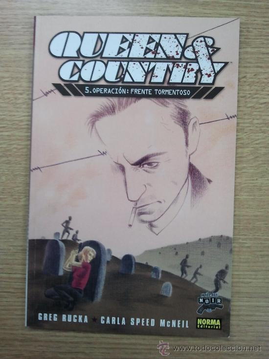 QUEEN AND COUNTRY #5 OPERACION FRENTE TORMENTOSO (COMIC NOIR #18) (Tebeos y Comics - Norma - Comic USA)