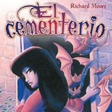 Cómics: EL CEMENTERIO.MOORE, RICHARD.COMIC. NÚMS. 1, 2, 3, Y 4. . Lote 32383462
