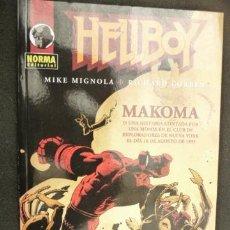 Cómics: HELLBOY. MAKOMA. MIKE MIGNOLA Y RICHARD CORBEN. NORMA. Lote 32482427
