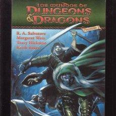 Cómics: LOS MUNDOS DE DUNGEONS DRAGONS VOL 1 /POR: R. A. SALVATORE - EDITA : NORMA. Lote 32476765