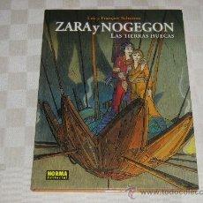 Cómics: ZARA Y NOGEGON - LAS TIERRAS HUECAS - LUC Y FRANÇOIS SCHUITEN - EDITORIAL NORMA TAPA DURA. Lote 32578460