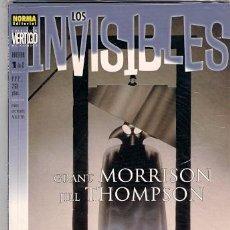 Cómics: LOS INVISIBLES. GRANT MORRISON. ARCADIA. Lote 32972469