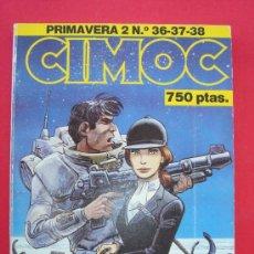 Cómics: CIMOC NºS 36, 37 Y 38. RETAPADO PRIMAVERA 2. NORMA EDITORIAL. VER FOTOS. Lote 33074755