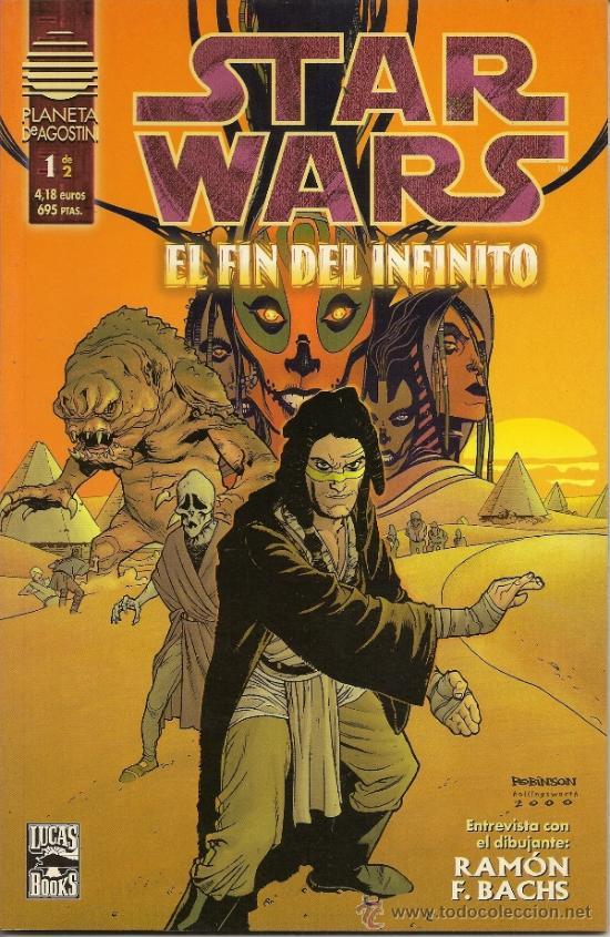 STAR WARS. EL FIN DEL INFINITO Y LA ULTIMA ORDEN. COMPLETAS (Tebeos y Comics - Norma - Comic USA)