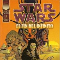 Cómics: STAR WARS. EL FIN DEL INFINITO Y LA ULTIMA ORDEN. COMPLETAS . Lote 33083684