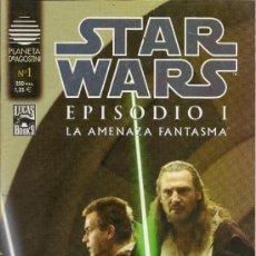 Cómics: STAR WARS. EPISODIO I. 2 SERIES DE 4. COMPLETAS . Lote 33083691