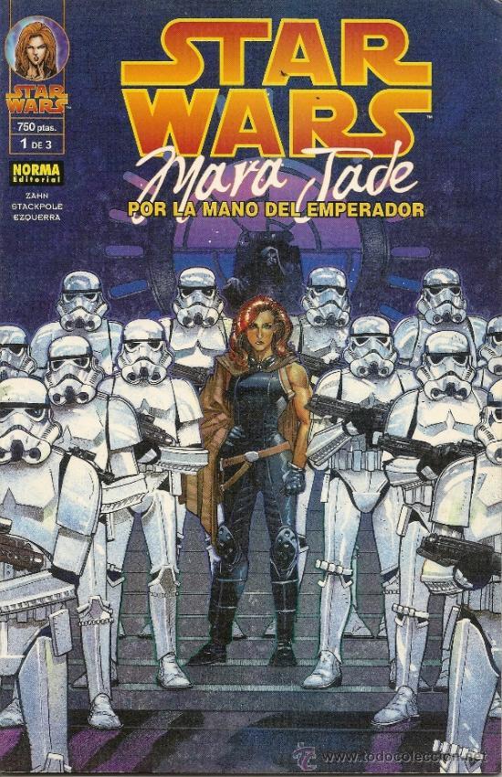 STAR WARS. MARA JADE. POR LA MANO DEL EMPERADOR. 3 PRESTIGIOS. COMPLETA (Tebeos y Comics - Norma - Comic USA)