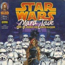 Cómics: STAR WARS. MARA JADE. POR LA MANO DEL EMPERADOR. 3 PRESTIGIOS. COMPLETA . Lote 33083727