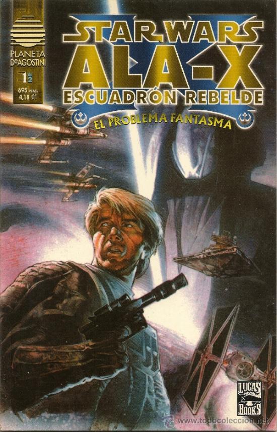 STAR WARS. ALA -X. ESCUADRON REBELDE. EL PROBLEMA FANTASMA Y STAR WARS. CHEWBACCA #1 (Tebeos y Comics - Norma - Comic USA)