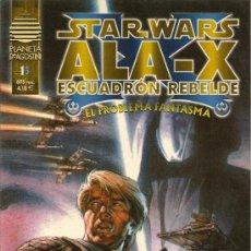 Cómics: STAR WARS. ALA -X. ESCUADRON REBELDE. EL PROBLEMA FANTASMA Y STAR WARS. CHEWBACCA #1. Lote 33083738
