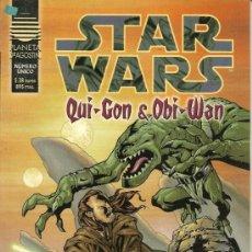 Cómics: STAR WARS. QUI-GON & OBI WAN, CAZARRECOMPENSAS Y ACADEMIA JEDI. LEVIATAN. Lote 33083760