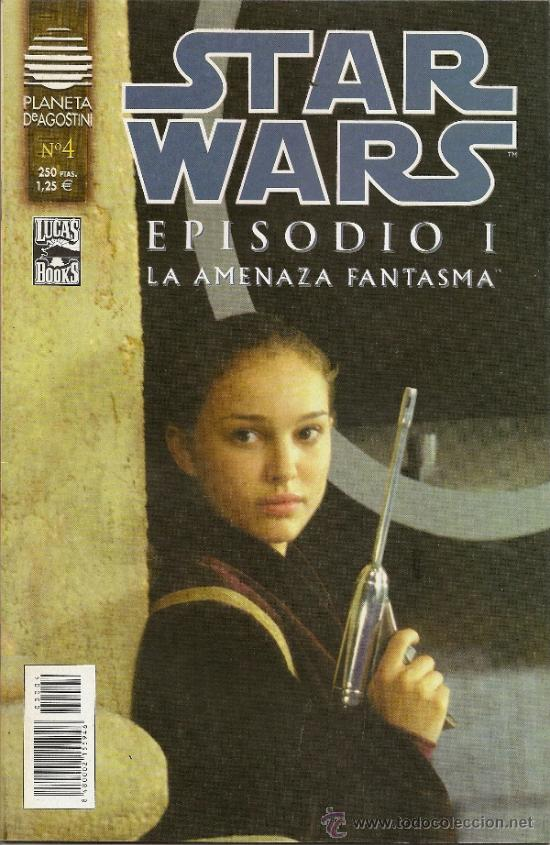 Cómics: STAR WARS. EPISODIO I. 2 SERIES DE 4. COMPLETAS - Foto 7 - 33083691