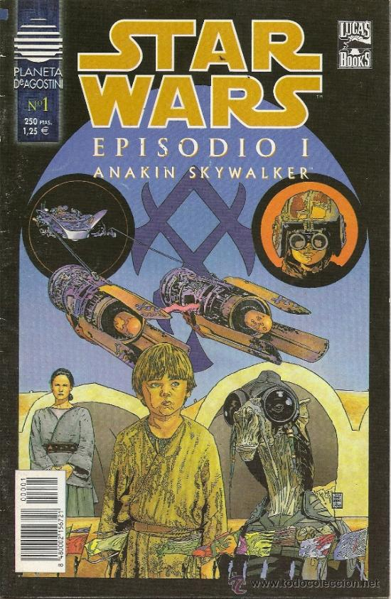 Cómics: STAR WARS. EPISODIO I. 2 SERIES DE 4. COMPLETAS - Foto 2 - 33083691