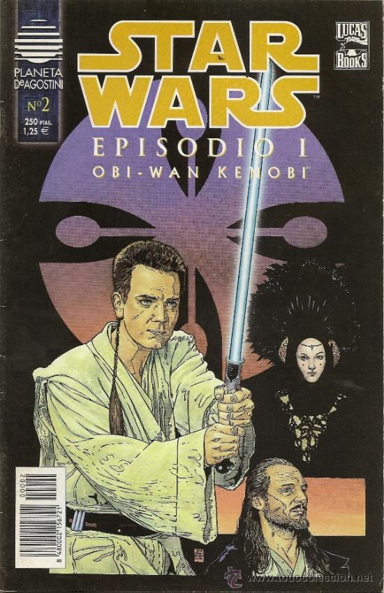 Cómics: STAR WARS. EPISODIO I. 2 SERIES DE 4. COMPLETAS - Foto 4 - 33083691