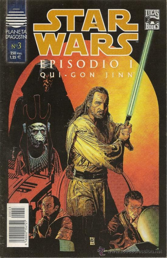 Cómics: STAR WARS. EPISODIO I. 2 SERIES DE 4. COMPLETAS - Foto 6 - 33083691