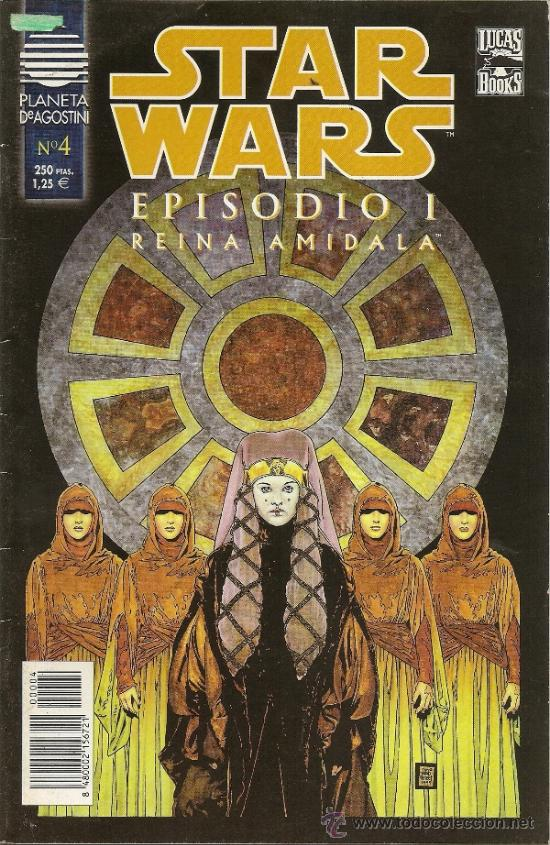 Cómics: STAR WARS. EPISODIO I. 2 SERIES DE 4. COMPLETAS - Foto 8 - 33083691