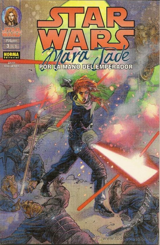 Cómics: STAR WARS. MARA JADE. POR LA MANO DEL EMPERADOR. 3 PRESTIGIOS. COMPLETA - Foto 3 - 33083727