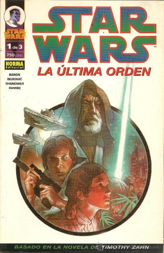 Cómics: STAR WARS. EL FIN DEL INFINITO Y LA ULTIMA ORDEN. COMPLETAS - Foto 5 - 33083684