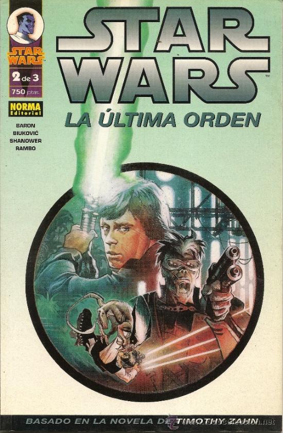 Cómics: STAR WARS. EL FIN DEL INFINITO Y LA ULTIMA ORDEN. COMPLETAS - Foto 4 - 33083684