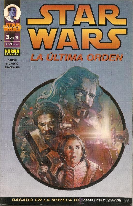 Cómics: STAR WARS. EL FIN DEL INFINITO Y LA ULTIMA ORDEN. COMPLETAS - Foto 3 - 33083684