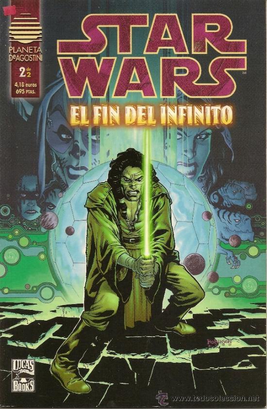 Cómics: STAR WARS. EL FIN DEL INFINITO Y LA ULTIMA ORDEN. COMPLETAS - Foto 2 - 33083684