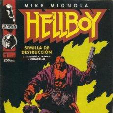 Cómics: HELLBOY. SEMILLA DE DESTRUCCION. SERIE DE 4. COMPLETA . Lote 33234933