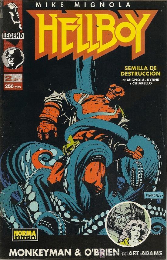 Cómics: HELLBOY. SEMILLA DE DESTRUCCION. SERIE DE 4. COMPLETA - Foto 2 - 33234933