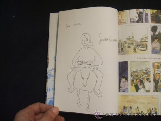 Cómics: UNA JUDIA AMERICANA PERDIDA EN ISRAEL - CON DIBUJO ORIGINAL DE SARAH GLIDDEN - NORMA EDITORIAL - - Foto 3 - 33329225