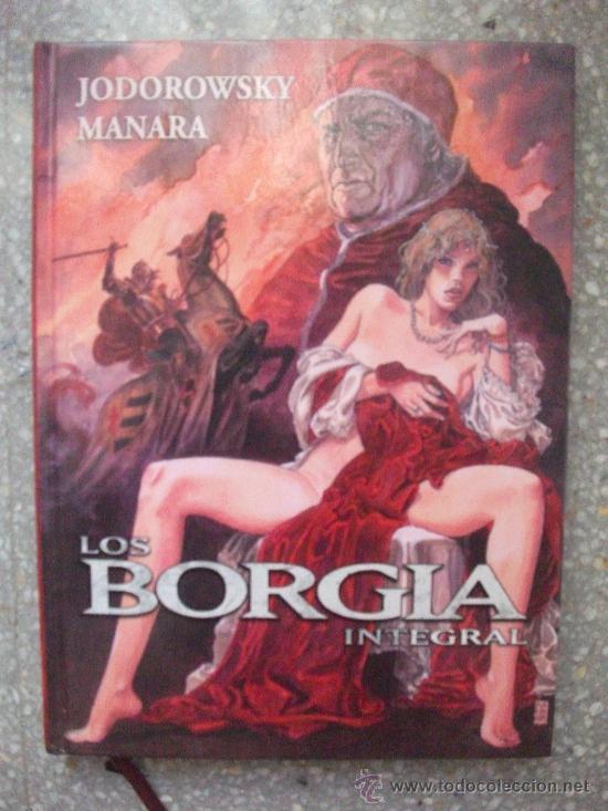 LOS BORGIA INTEGRAL NORMA EDITORIAL (Tebeos y Comics - Norma - Otros)