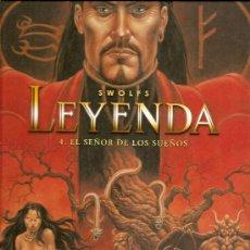 Cómics: LEYENDA Nº 4 EL SEÑOR DE LOS SUEÑOS. Lote 33468580